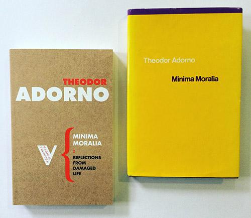 capitalism as described in minima moralia by thedor adorno