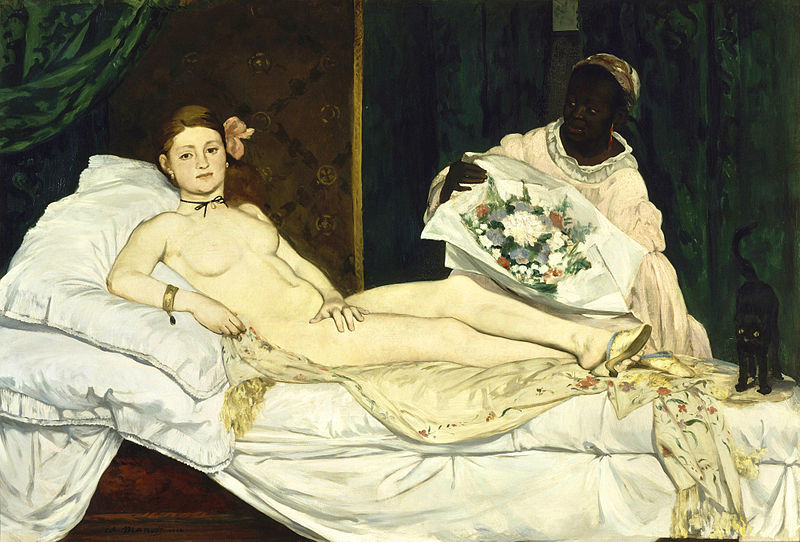 Olympia by Edouard Manet (1865)